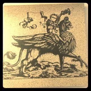 Decorative Griffin Tile